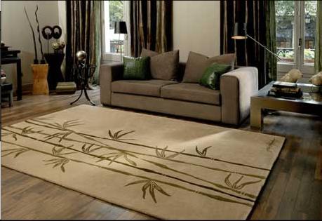 Cu l es el tama o ideal para una alfombra decorar tu - Alfombra para salon ...